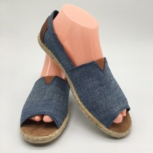 Toms Cambray Flat open toe